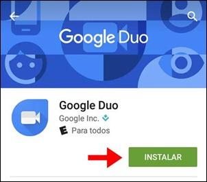 Abrir mi cuenta Google Duo - 556