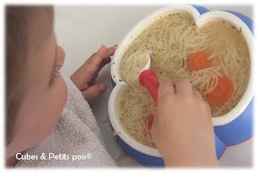 adapter taille assiette en fonction de bébé