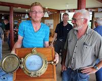 Christian og Lars med vandrepræmien på 17 kg