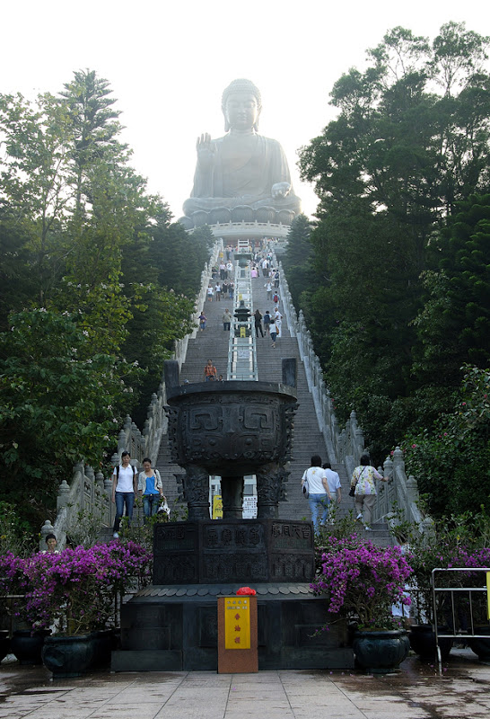 Tian Tan Buddha (Big Buddha), Po Lin Monastery, Lantau Island