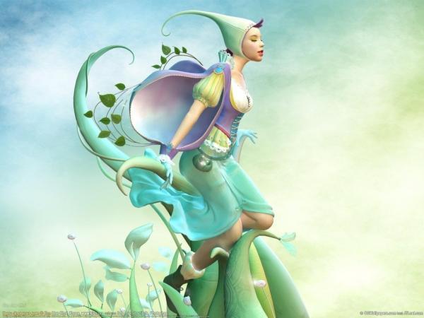 Fairy Of Grass, Fairies Girls