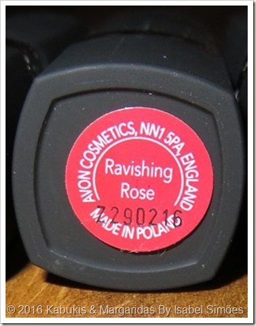 Ravishing Rose da Gama Perfectly Matte da Avon
