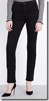 J Brand Straight High Rise Jeans