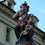 The Child Eater statue in Bern, Switzerland in Bern, Bern, Switzerland