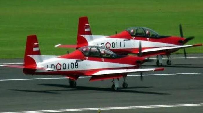 Alhamdulillah! Dua Pilot Selamat Pasca Pesawat Latih KT-1B Wong Bee Kecelakaan