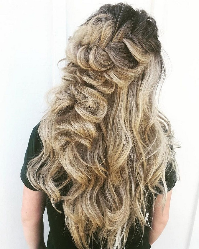 Half Up Half Down Hairstyles For Woman In 2018 3
