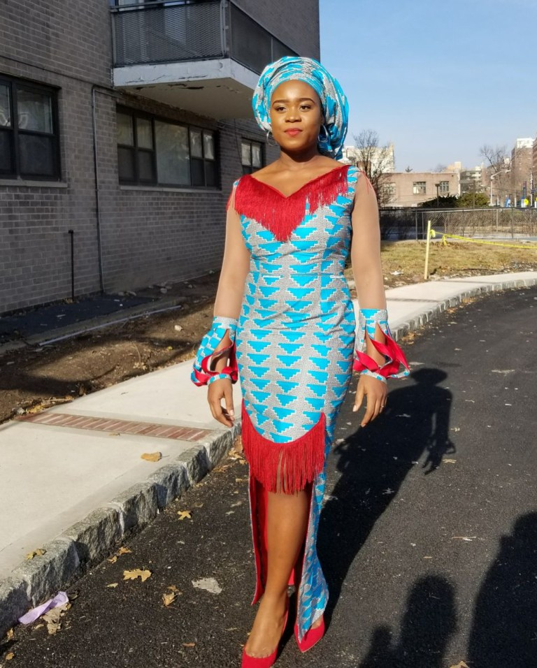 Latest South African Print Dresses For Ladies 2019 2
