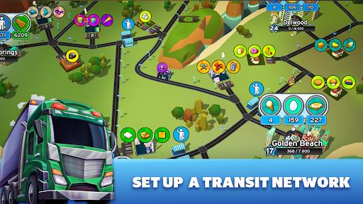 Transit King Tycoon - City Tycoon Game apktram screenshots 8