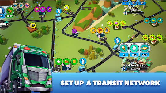 Transit King Tycoon Mod Apk (Free Shopping + Unlimited Money) 3.24 8