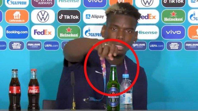 Janji UEFA ke Pemain Muslim Usai Insiden Paul Pogba dan Botol Bir