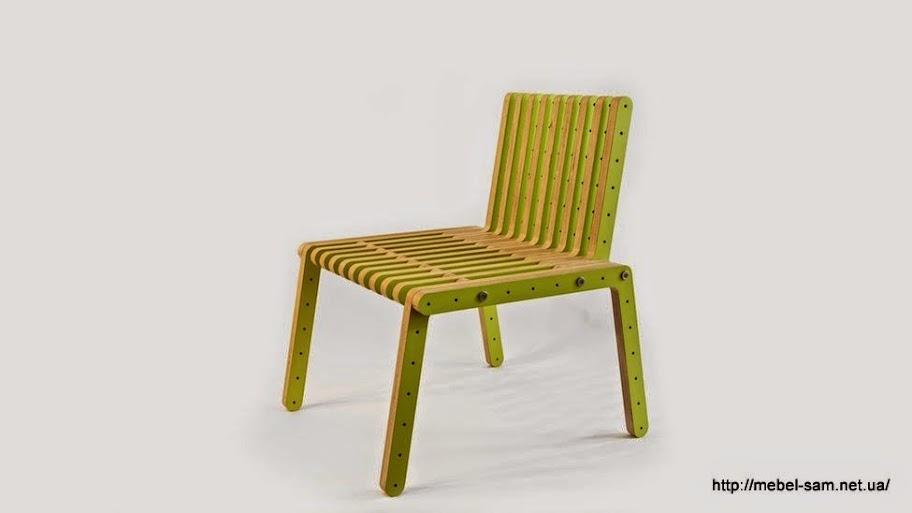 Сборный фанерный стул
