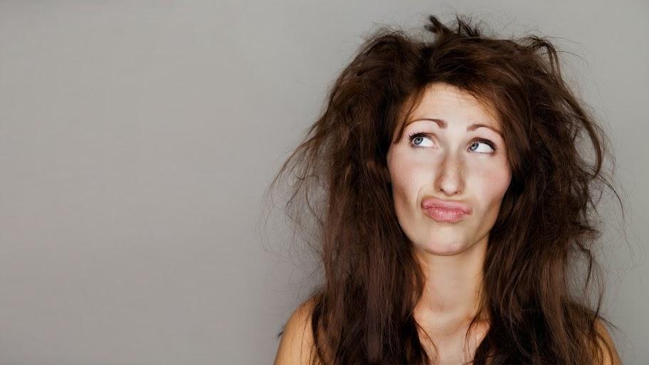 gambar wanita - cara menyeleksi rambut di photoshop