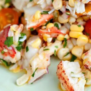 Lobster Corn Salad.