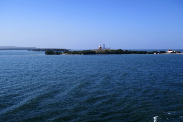 Cartagena Harbour Entrance Islands