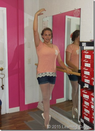 Pointe Shoe Fitting 020