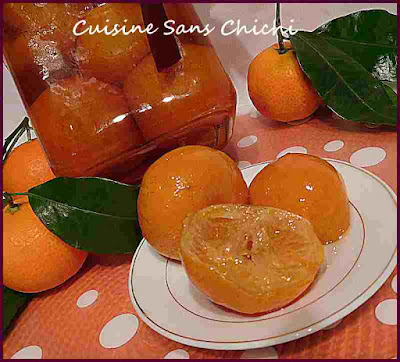Clementines confites de corse
