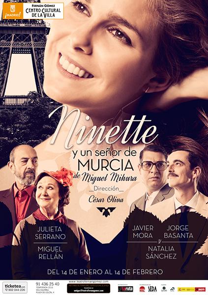 'Ninette y un señor de Murcia' de Mihura, en el Fernán Gómez