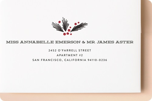 minted plaid address