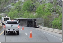 I-40 mile marker 3 North Carolina