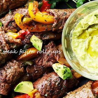 Steak Fajita Roll-Ups.