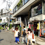 street of harajuku in Harajuku, Tokyo, Japan
