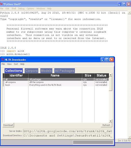 Nltk Corpus Download