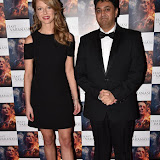 OIC - ENTSIMAGES.COM - Holly Gilbert  and Director Rajan Kumar Patel at the  : Feast of Varanasi  UK film premiere during the London Asian Film Festival 5th March 2016 Photo Mobis Photos/OIC 0203 174 1069