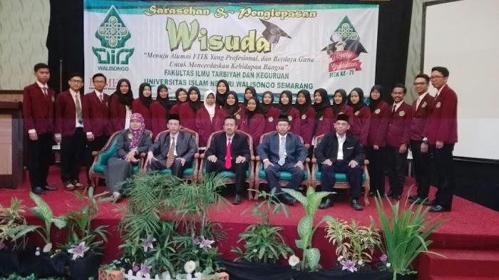 Berbekal Ilmu Pendidikan Islam, 256 Wisudawan FITK UIN Walisongo Diminta Bermasyarakat