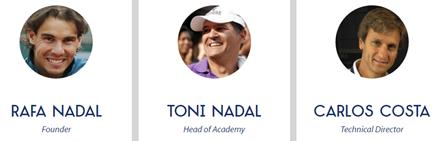 Responsables Directivos Rafa Nadal Academy