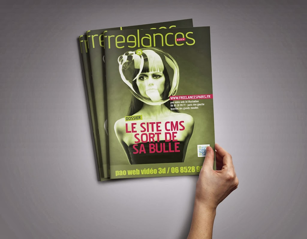 magazine Freelances WEB Le site CMS sortde sa bulle