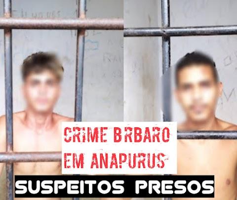 Presos suspeitos de terem matado idoso com golpe na cabeça em Anapurus