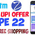 Zingoy Paytm Offer - Rs 22 cashback on making 3 payments