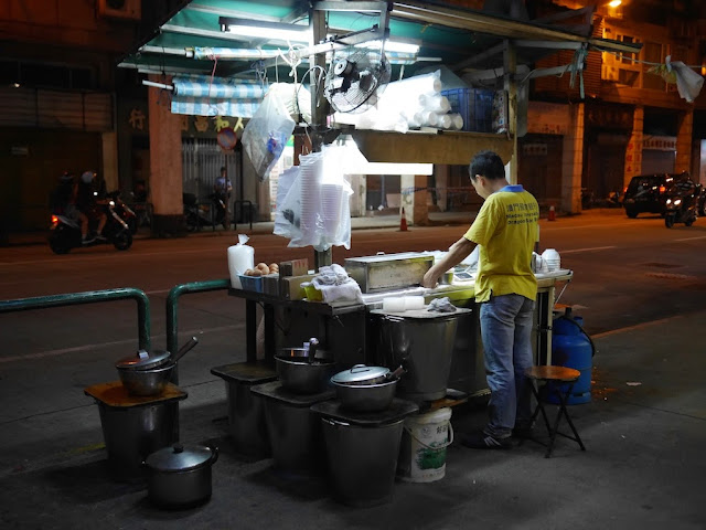 food vendor stall in Macau