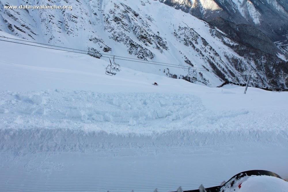 Avalanche Haute Maurienne, secteur La Norma, Norma 2 - Photo 1 - © Duclos Alain