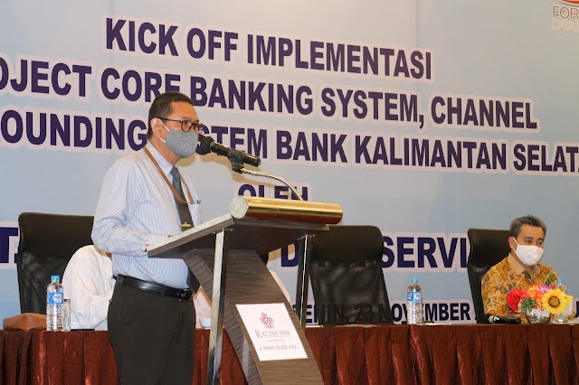 Tandai Transformasi Menuju Digital Banking, Bank Kalsel Kick Off Implementasi Core Banking System