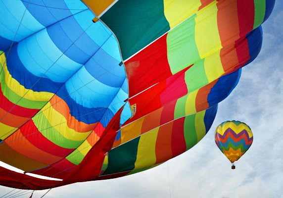 United colors of balloon  di Justinawind