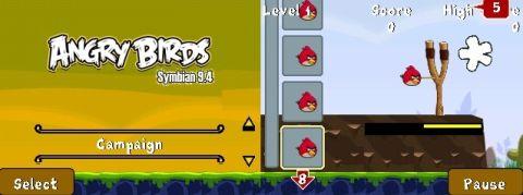 Angry Birds v0.0.1 S60v3 320x240 by Novchik