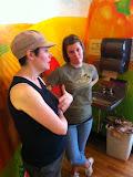 Jeanne & Jenna & the Inspiration Cafe