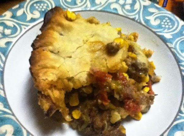 Ground Beef And Veggie Pie Recipe