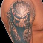 Predator movie tattoo - Shoulder Tattoos Designs