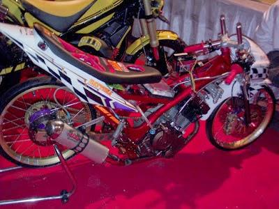 Yamaha Fino Modifikasi Drag