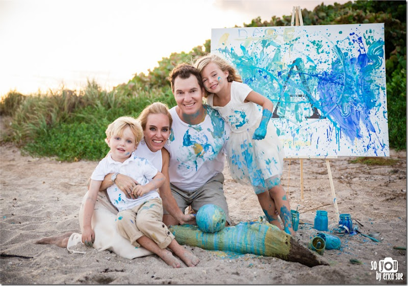 2048 family painting photo session beach-2