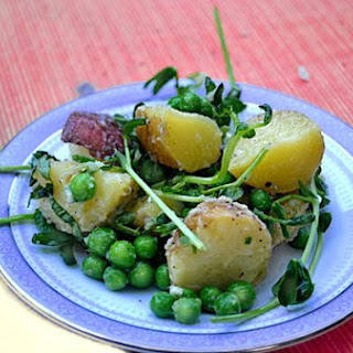 Summer Potato & Pea Salad