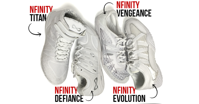 Men's Nfinity Cheer Shoe Styles