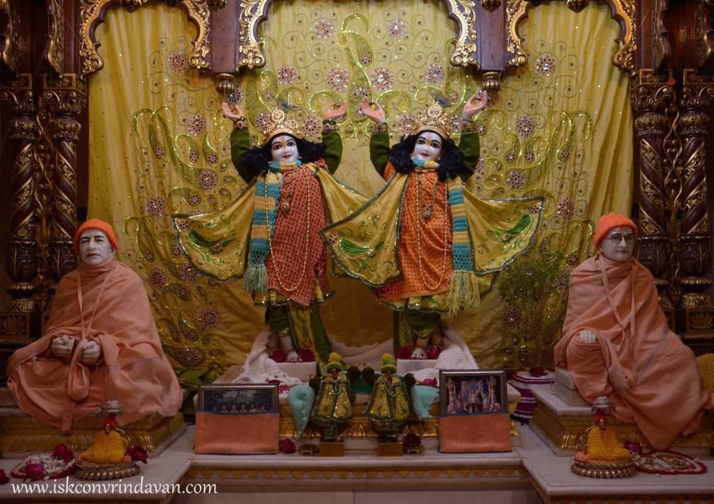 ISKCON Vrindavan Mangal Deity Darshan 29 Jan 2016 (1)