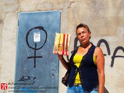 Gabriela Islas amb la Sonda de Paper Activem els buits