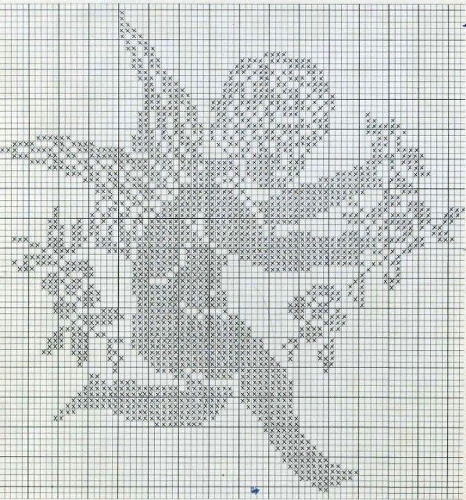 Lo Spazio Di Lilla Angioletti A Filet Crochet Filet Angels