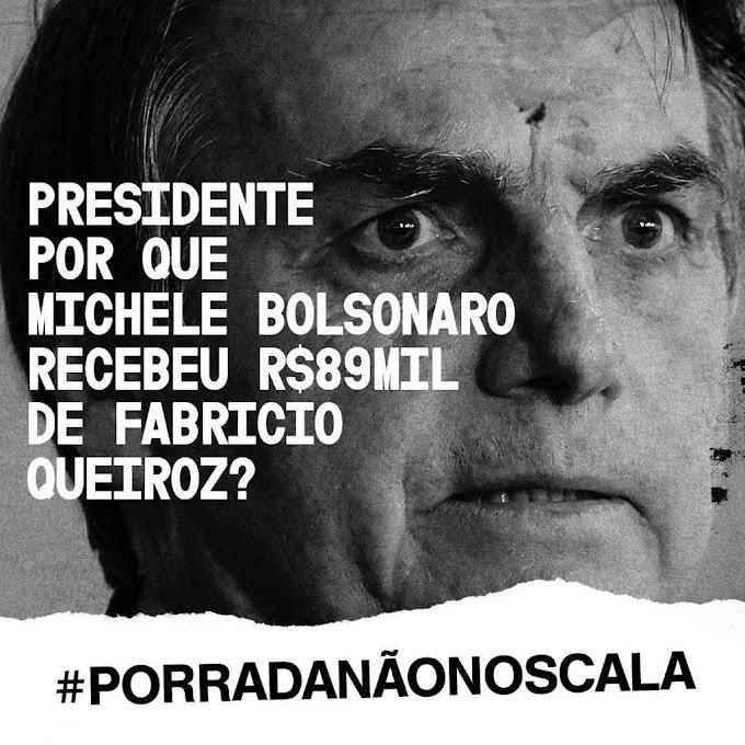 Esposa de Bolsonaro recebe 89 mil de Fabrício Queiroz e internet não perdoa; jornalista foi ameaçado pelo presidente
