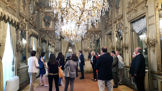 Campaña ¡Bienvenidos a palacio! 2015, visitas guiadas a 6 palacios de Madrid