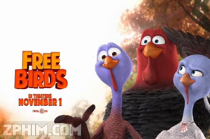 Ảnh trong phim Giải Cứu Gà Tây - Free Birds 1